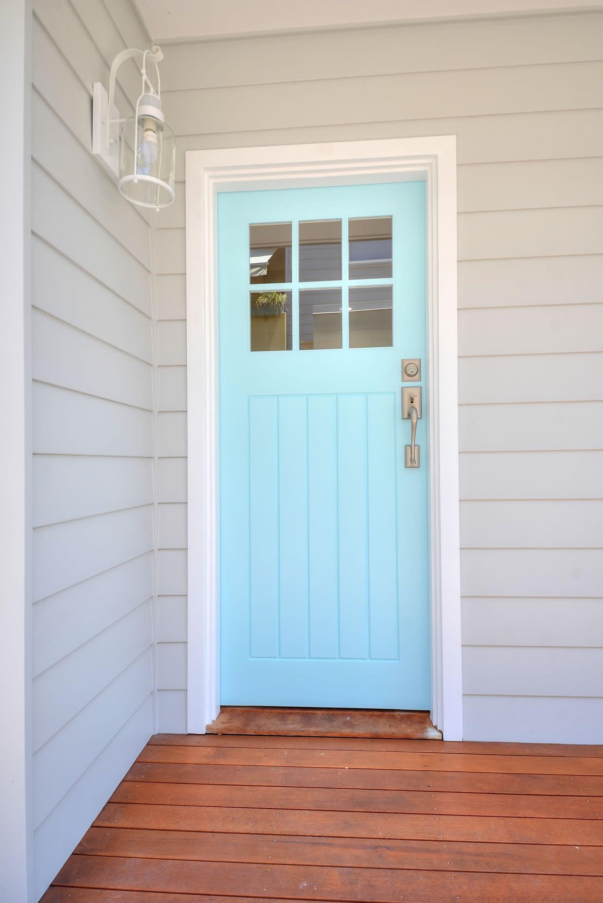House Renovators Poarch Front Door