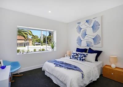 Major Renovation Bedroom