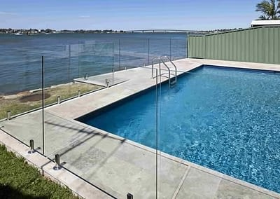 Custom New Home Builders Pool