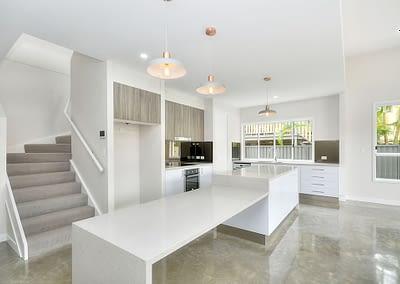 Duplex Build Interior