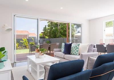 Duplex Living Area