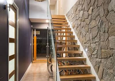 Custom Home Builders Stair Case On The Gold Coast