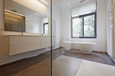 Home Renovation Finished Bathroom