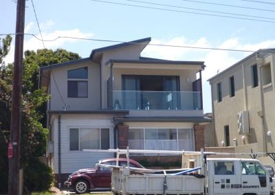 Second storey addition house
